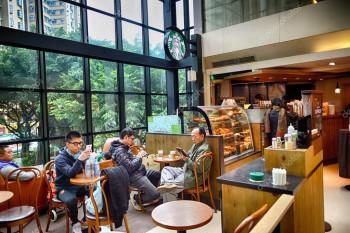 Starbucks Style Cafe